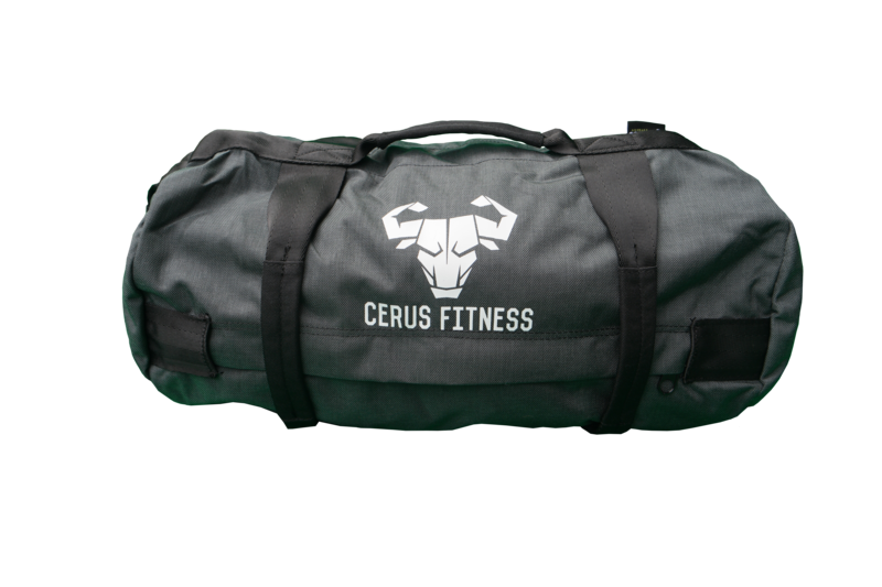 *New* Cerus Fitness MINI Sandbag Kit- Charcoal Gray