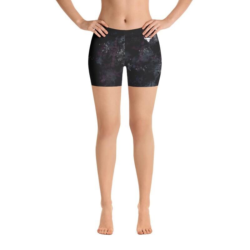 Pink Texture Cerus Shorts