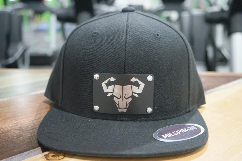 Cerus Metal Plate Snapback Hat