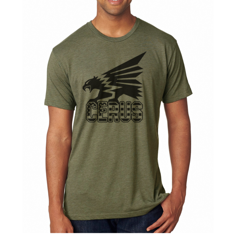 CerusRuk Military Green Tri-Blend Tee (Limited Edition)
