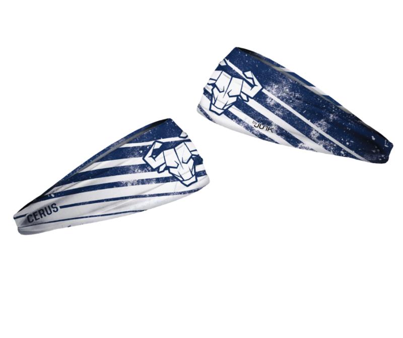Cerus Blue Headband by JUNK