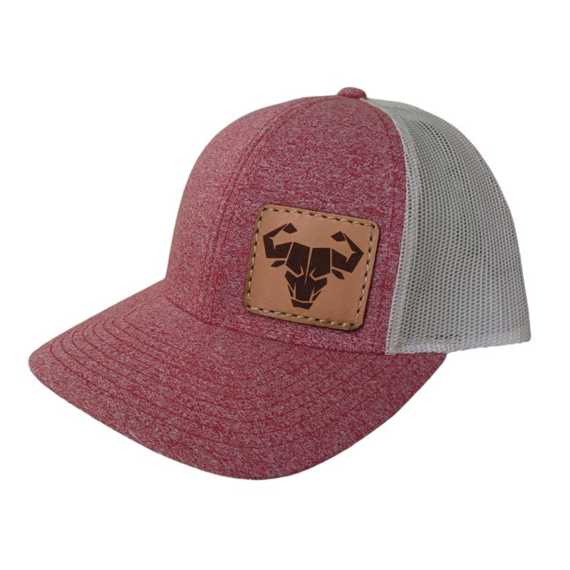 Trucker Hat (Red Heather/Birch)