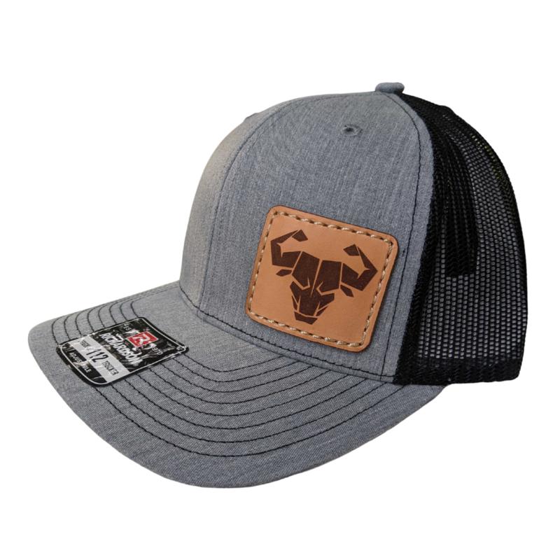 Trucker Hat (Heather Grey/Black)
