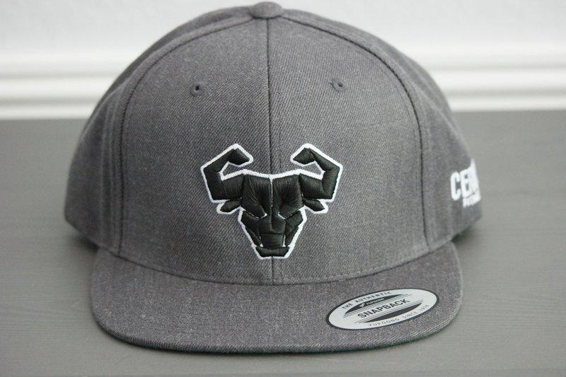 Cerus Gray Halo Snapback Hat