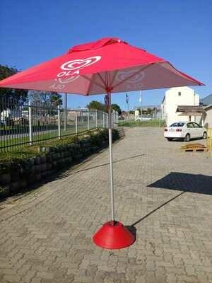 Branded Umbrella Square 2m x 2m