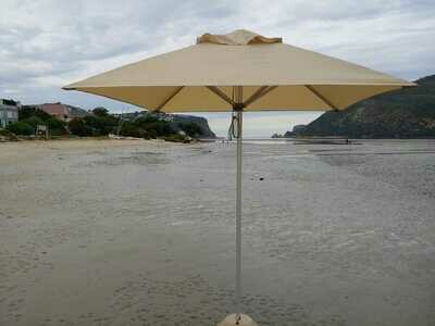 2m Patio Square Umbrella