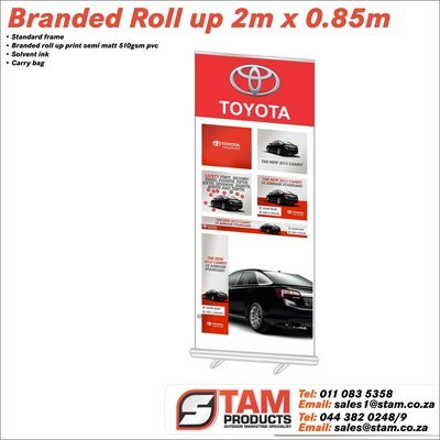 Roll up Banner Deluxe Frame