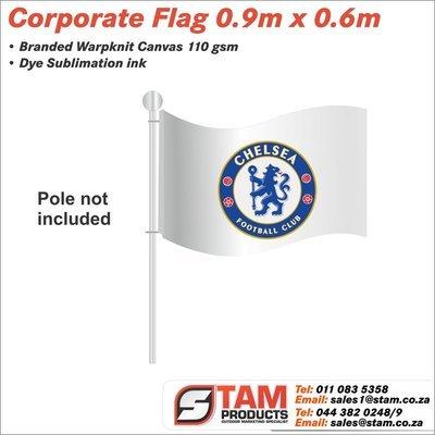 Corporate Flag 0.9m x 0.6m