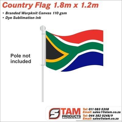 Country Flag 1.8m x 1.2m