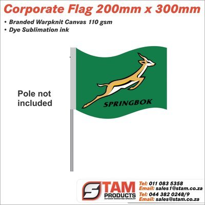 Corporate Flag 200mm x 300mm