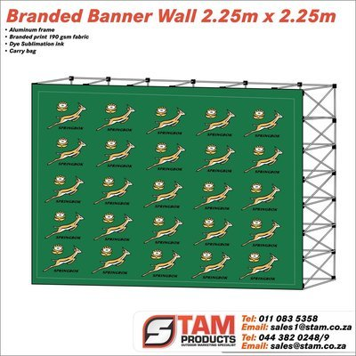 Banner Wall 2.25m x 2.25m