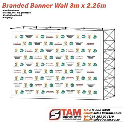 Banner Wall 3m x 2.25m