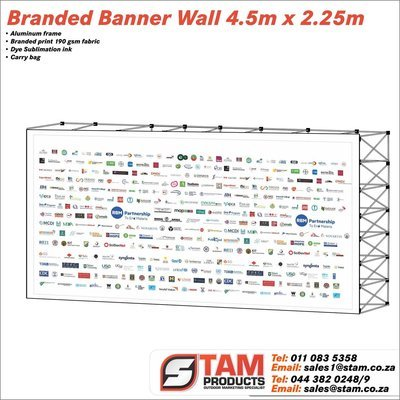 Banner Wall 4.5m x 2.25m