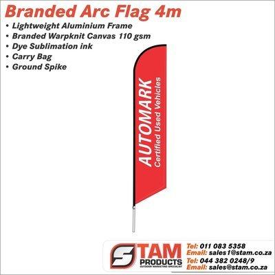 Arc Flag 4 Meter