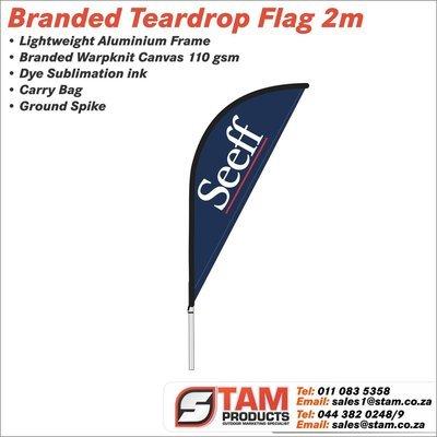 Teardrop Flag 2 Meter