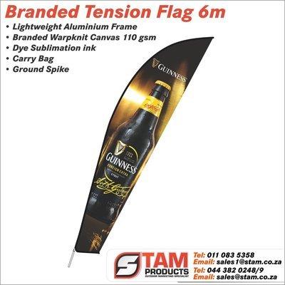 Tension Flag 6 Meter