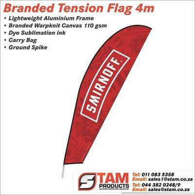 Tension Flag 4 Meter