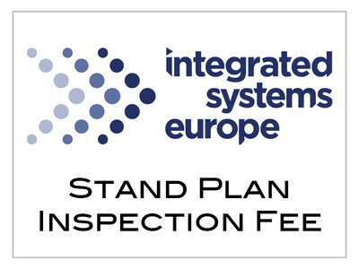 ISE 2021 - Stand Plan Inspection Fee