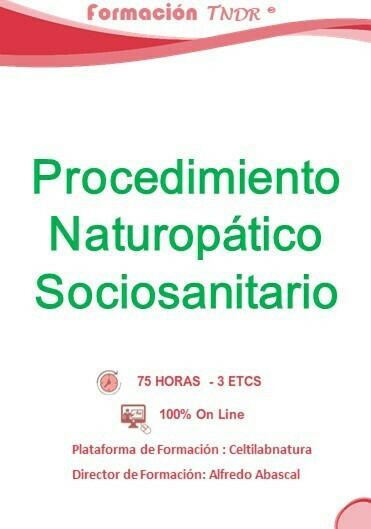 Procedimiento Naturopático Sociosanitario