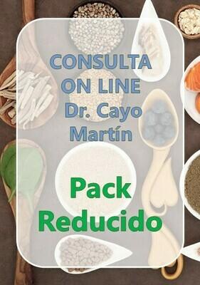 Pack Reducido Consulta On Line Dr. Cayo Martín
