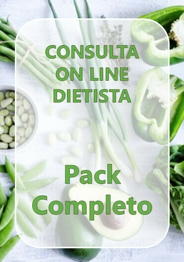 Pack Completo Consulta On Line Dietista