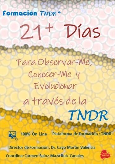 21+ días para EVOLUCIONAR con la TNDR