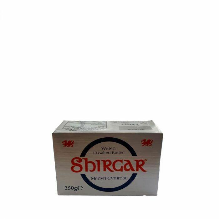 Shirgar - Welsh Unsalted Butter - 250g