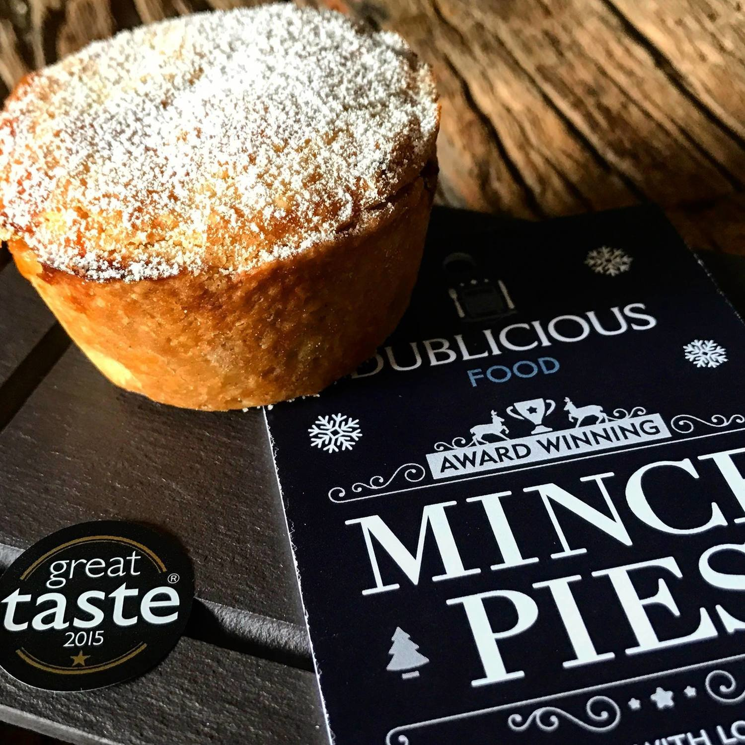 Mince Pies  - Great Taste 1 Gold Star 2019