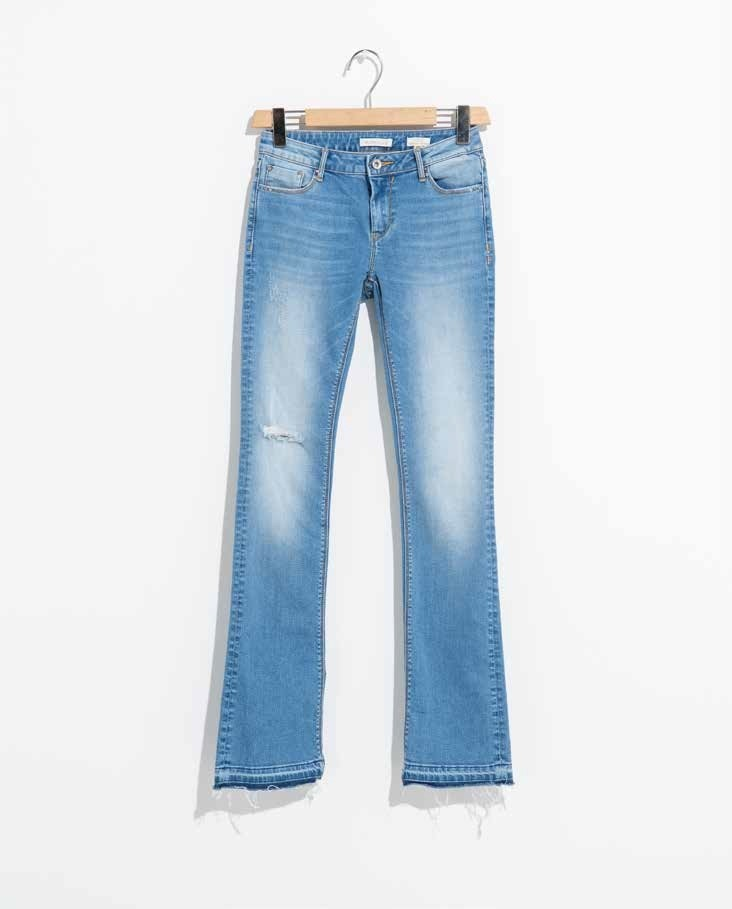 Jeans bootcut stretch