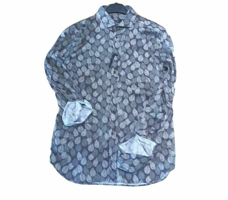 Leaves print shirt
