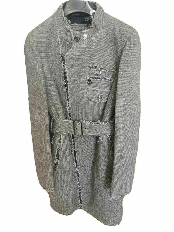 Cappotto con cinturone
