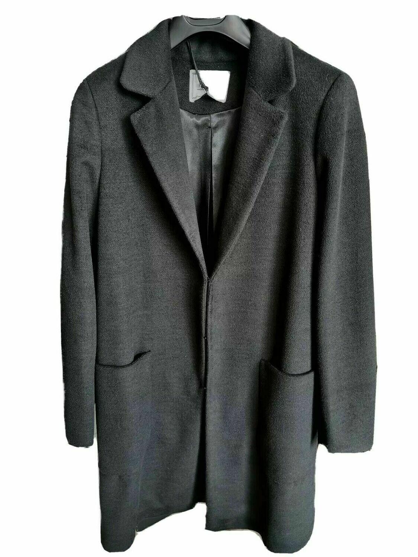 Cappotto lungo in misto lana