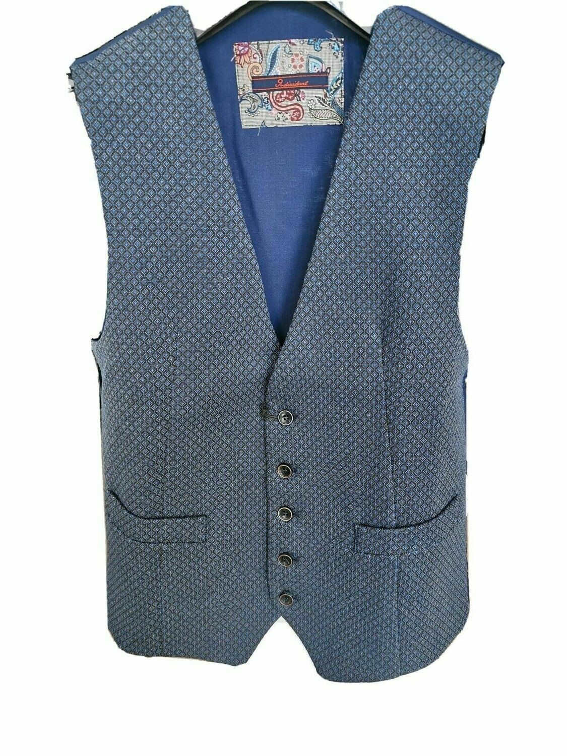 Gilet in tweed