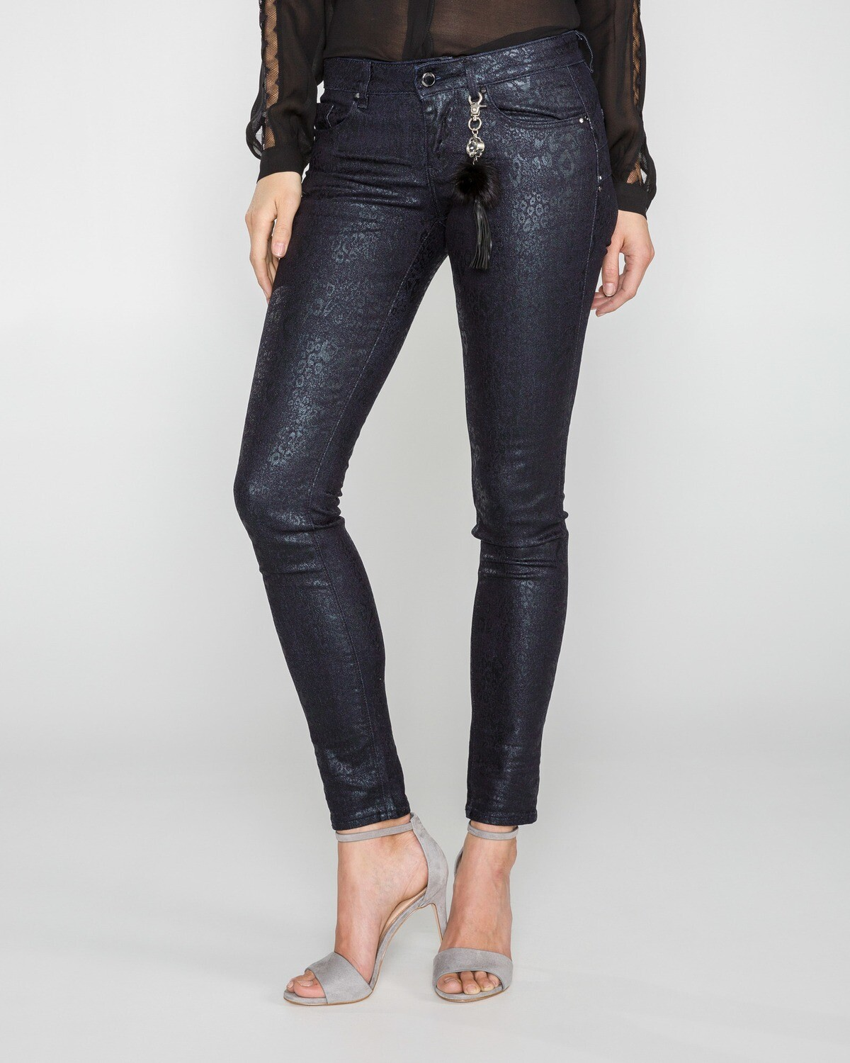 Jeans nero shape up skinny