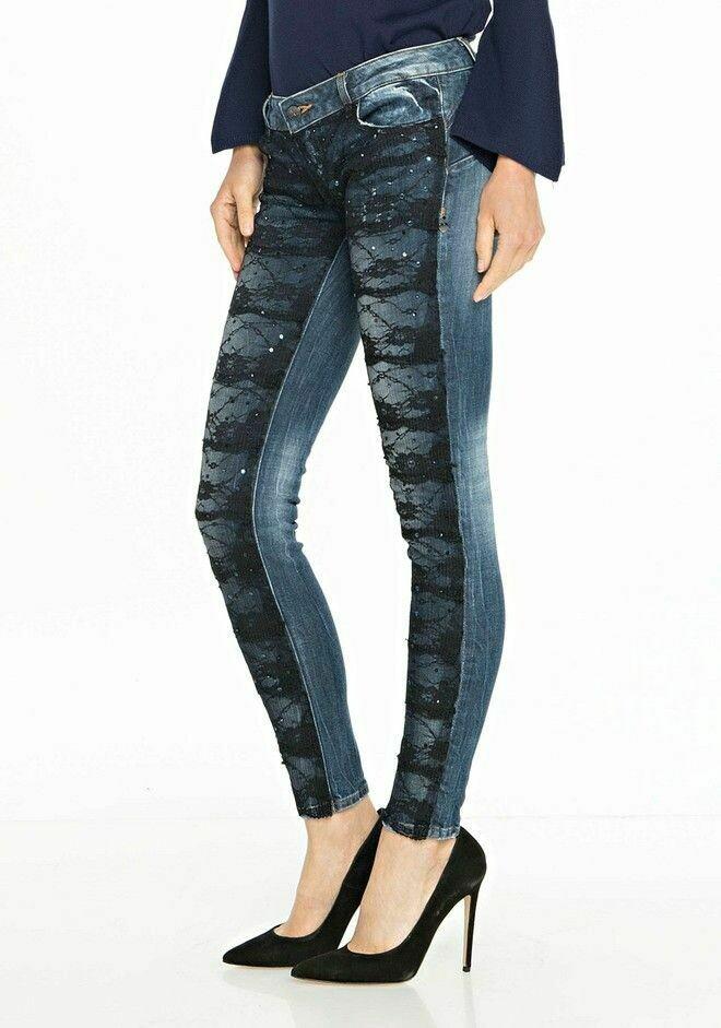 Super slim shape up jeans