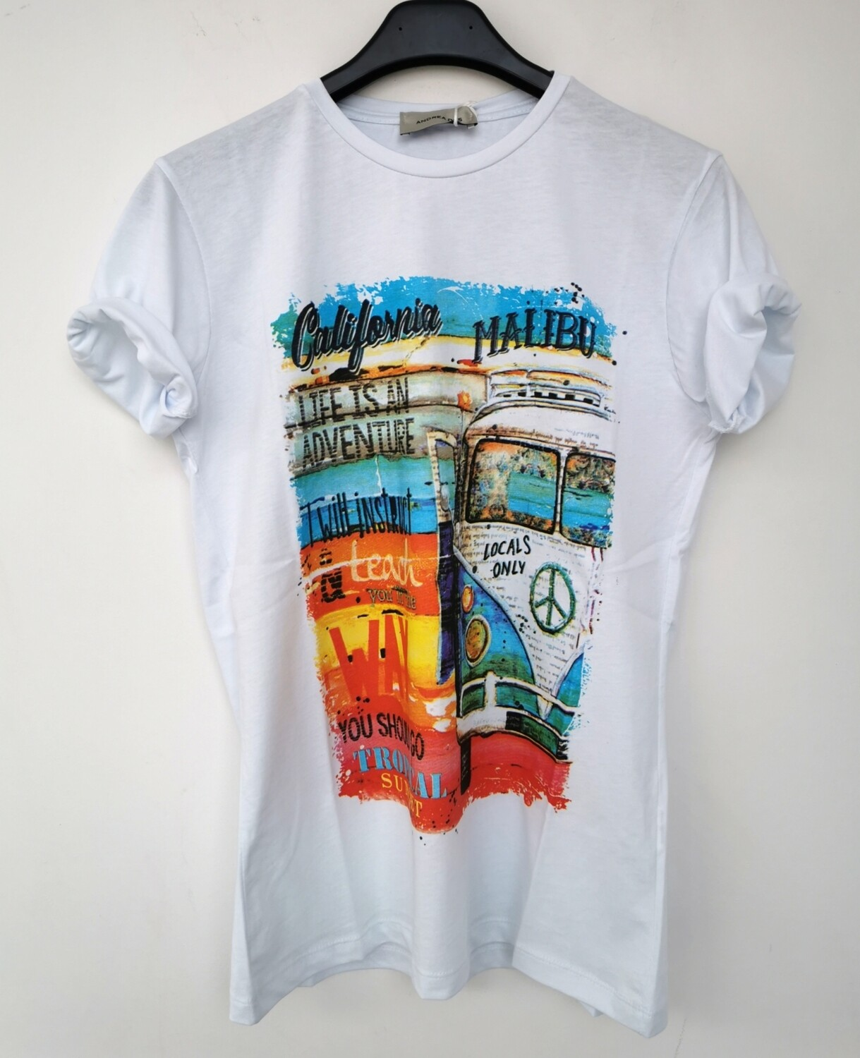 T-shirt stampa California
