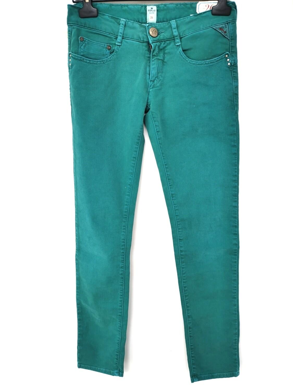 Jeans super slim colorato