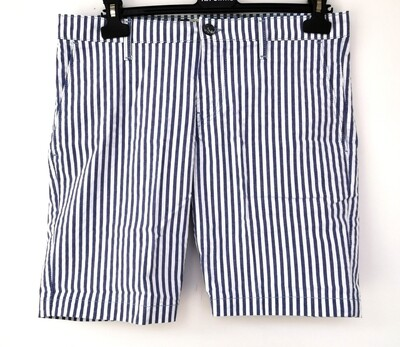 Striped men's shorts
