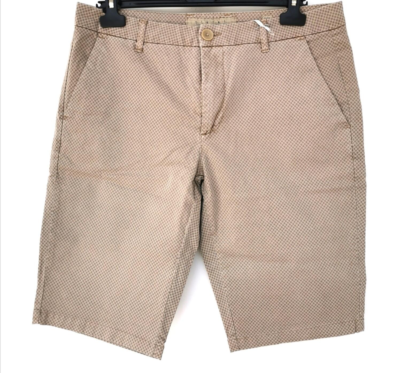 Pantaloncini uomo in microfantasia