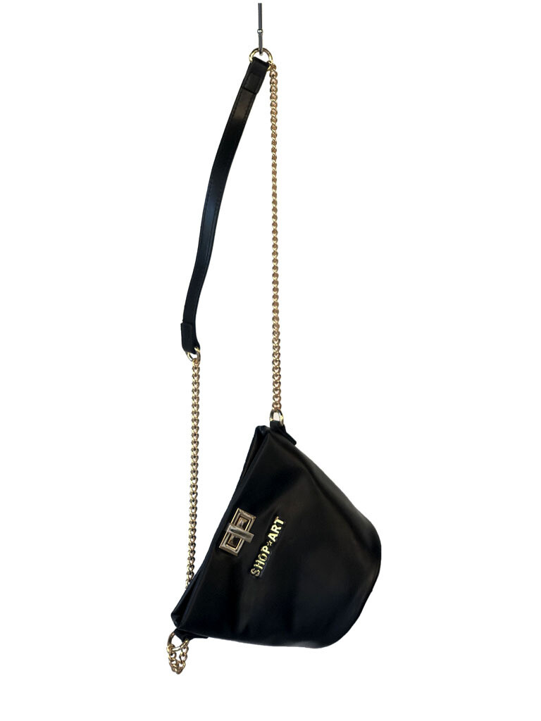 ECO LEATHER BUCKET BAG