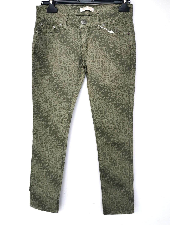 Pantalone stampa pitonata