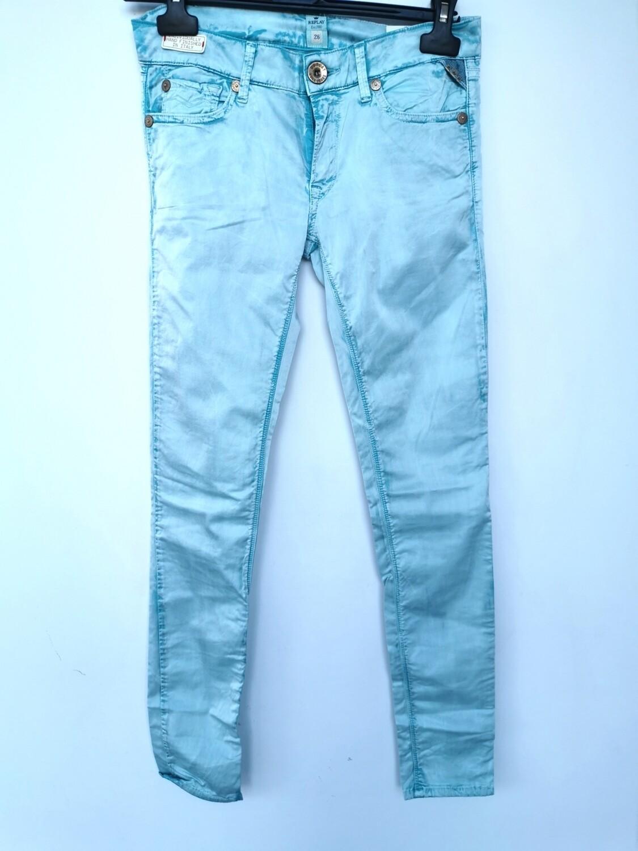 Satin skinny pants