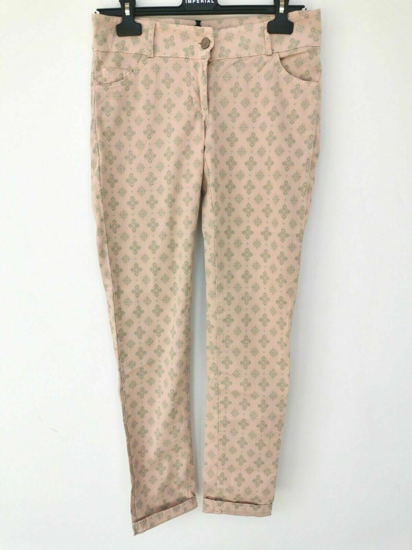 Pantalone fantasia giglio