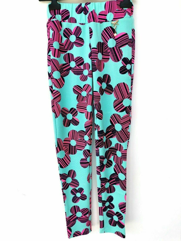 Panta leggings floreale