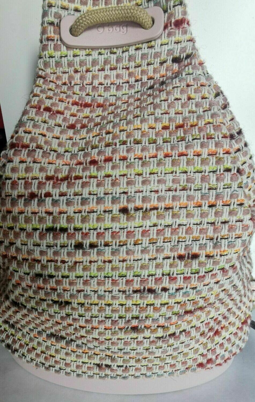 Zainetto O bag in tessuto.