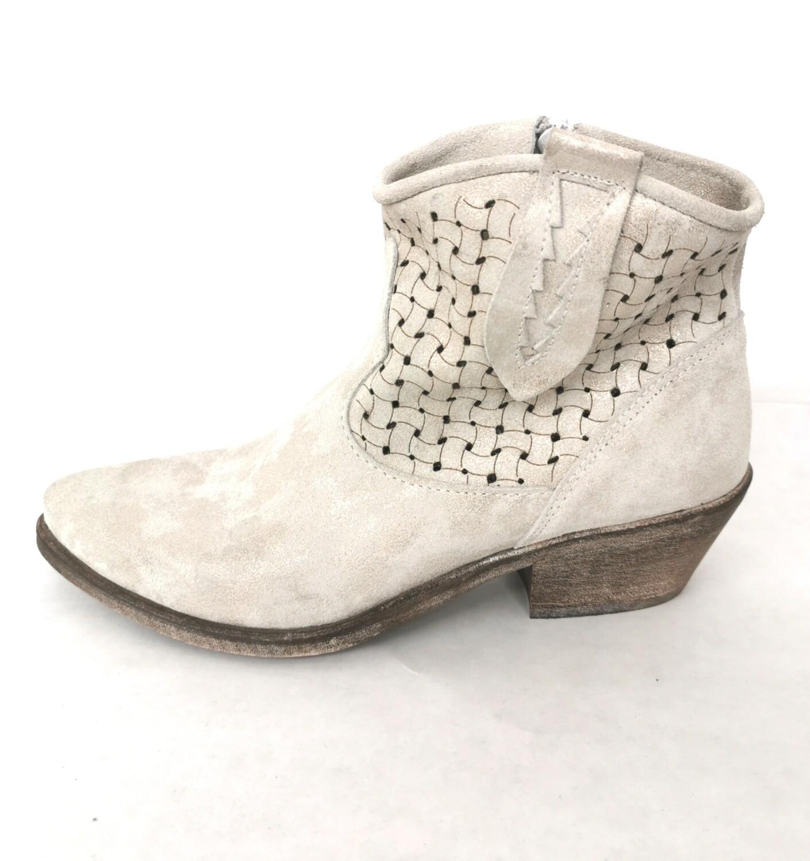 Stivali texani scamosciati