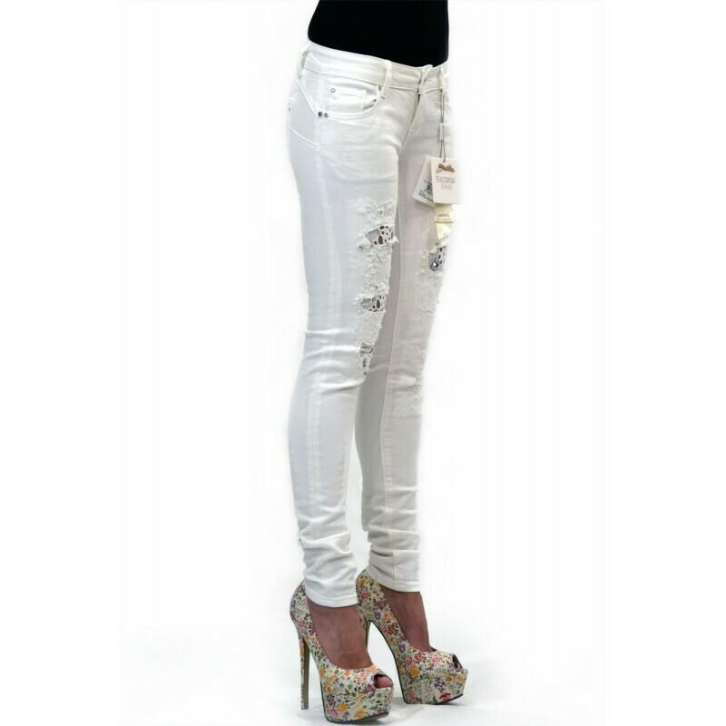 Jeans bianco shape up skinny