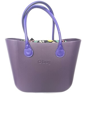 O bag with inner bag and handles