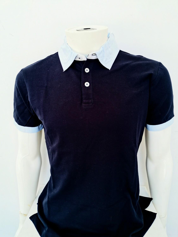 Polo piquet camicia m/m