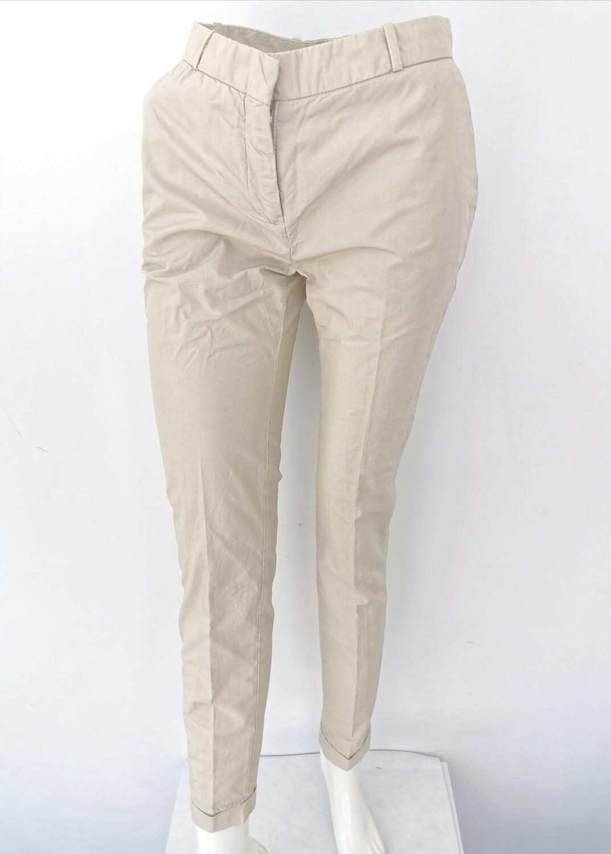 Pantalone chino con risvolto tela paracadute
